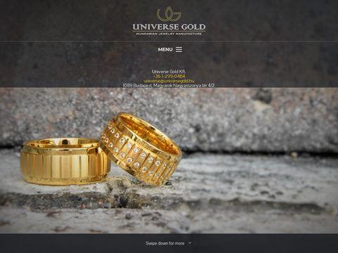 Esküvői szolgáltató: UniverseGold Karikagyűrűgyártó