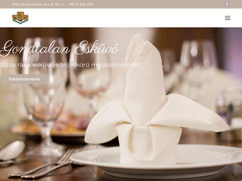 Esküvői szolgáltató: V-Art Rendezvényszervezés dekoráció