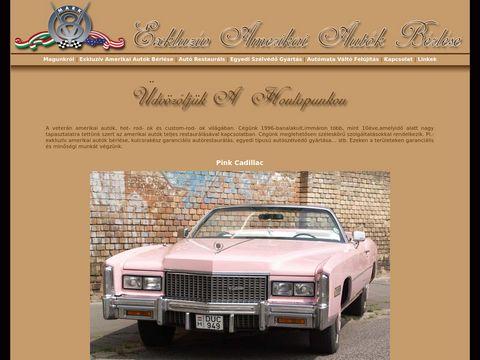 Esküvői szolgáltató: Exkluzív Amerikai Autók Bérlése