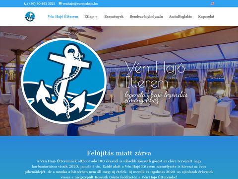 Esküvői szolgáltató: Vén Hajó Étterem