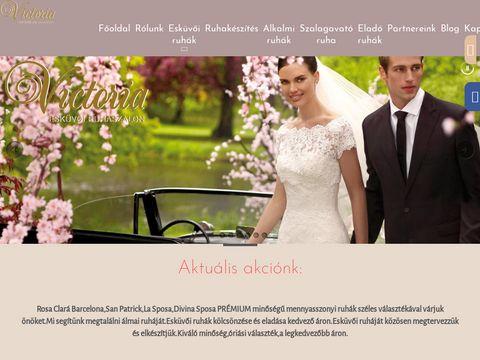 Esküvői szolgáltató: Victoria Esküvői Ruhaszalon Budapest