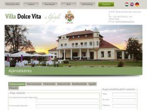 Esküvői szolgáltató: Villa Dolce Vita