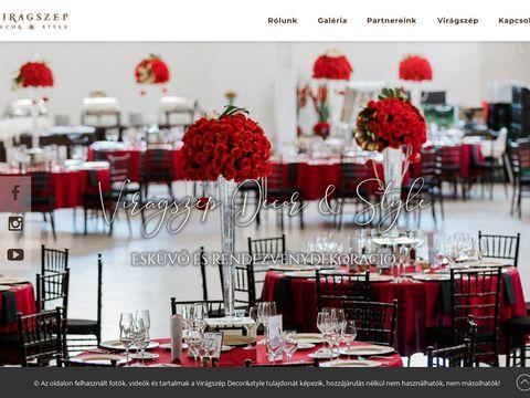 Esküvői szolgáltató: Virágszép Decor & Style