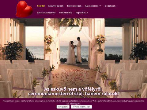 Esküvői szolgáltató: Vőfélymegoldás