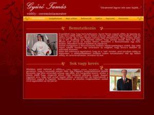 Esküvői szolgáltató: Gyúró Tamás