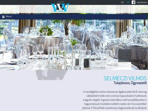 Esküvői szolgáltató: Waldorf Catering Kft.