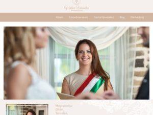Esküvői szolgáltató: Wéber Veronika Mennyegző