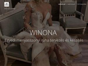 Esküvői szolgáltató: WINONA Menyasszonyi ruhaszalon