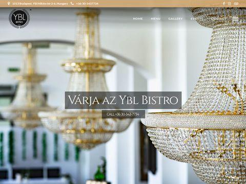 Esküvői szolgáltató: Ybl Bisztró
