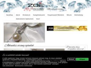 Esküvői szolgáltató: Zoé Ékszerbolt