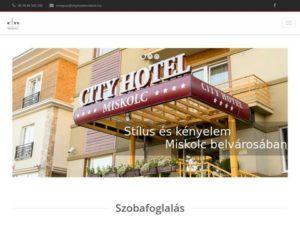 cityhotelmiskolc.hu
