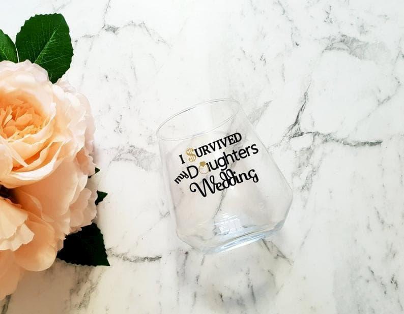 szülőköszöntő ajándék pohár