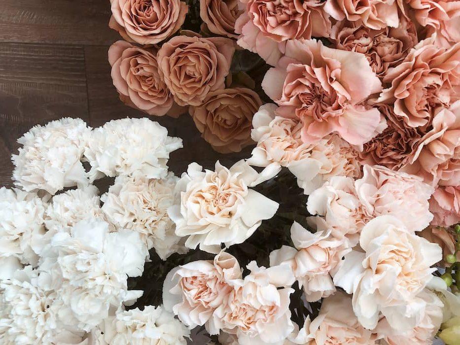 esküvői dekor virágok