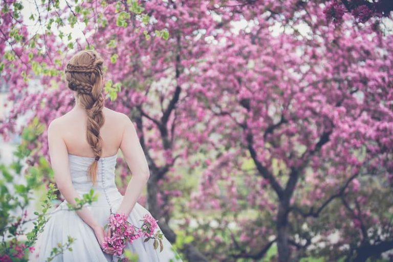 romantikus esküvő