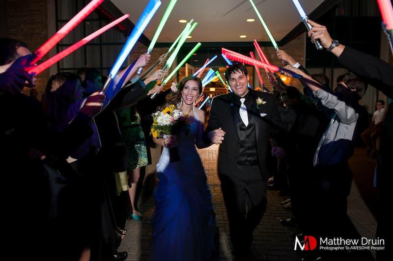 star wars esküvő